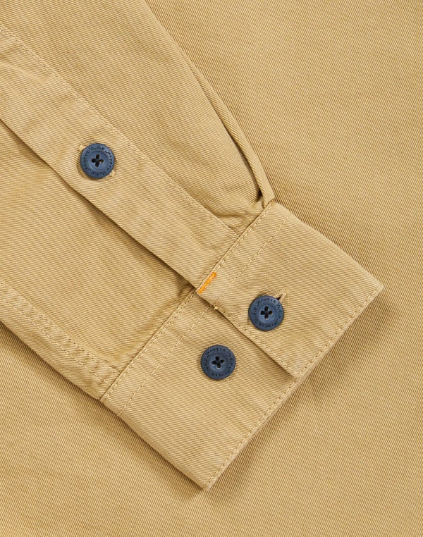 Nudie Jeans Co - Henry Pigment Dyed Shirt Beige