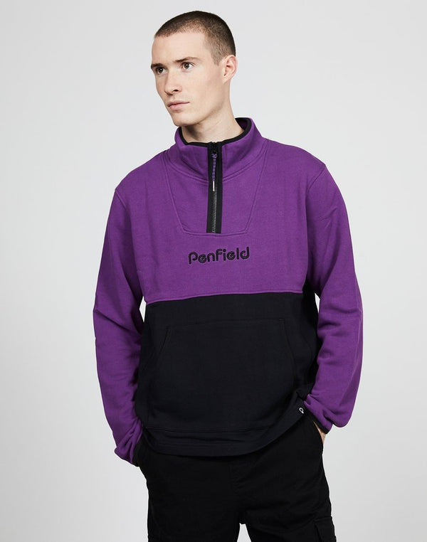 Penfield - Chipman Colourblock Sweatshirt Purple
