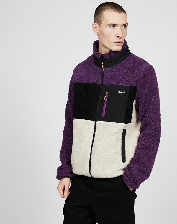 Penfield - Mattawa Colourblock Fleece Purple
