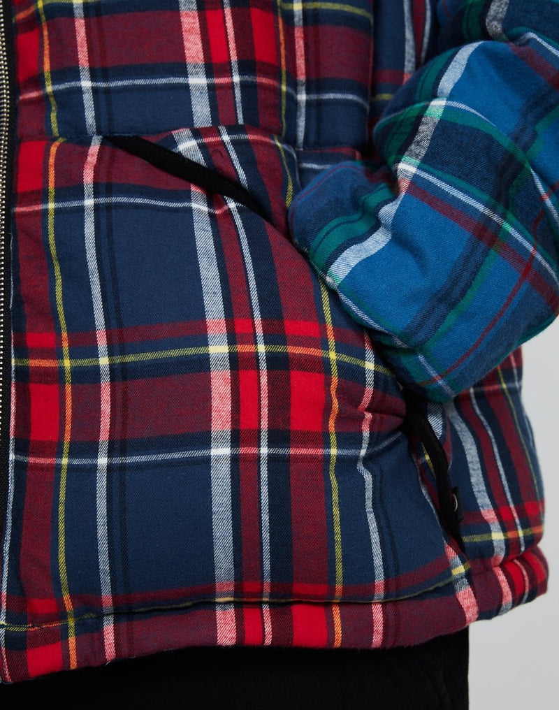 Penfield - Walkabout Puffer Jacket Red Check