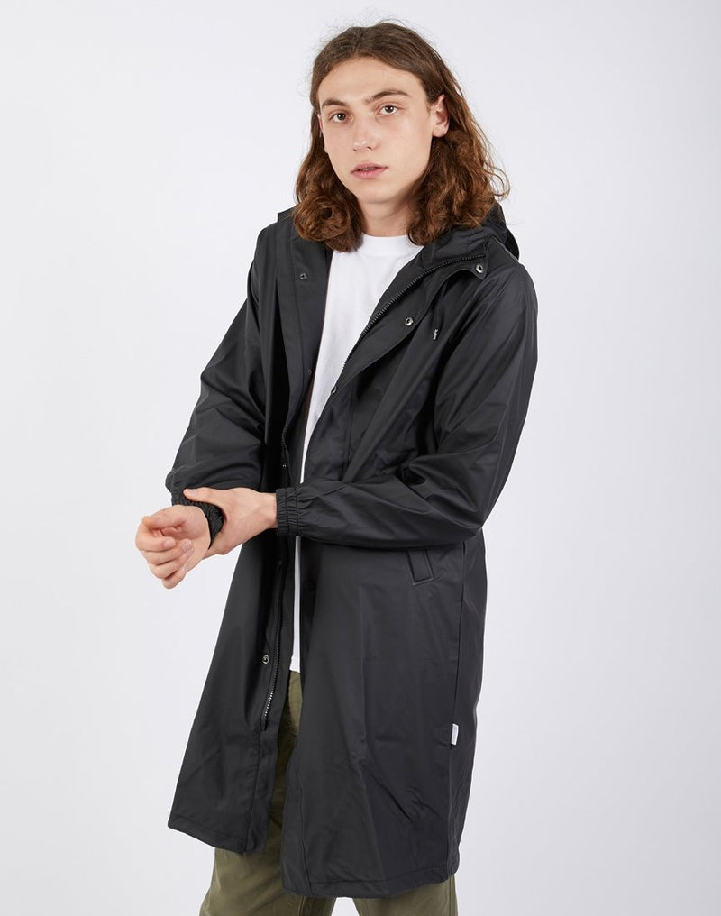 Rains - Fishtail Parka Black