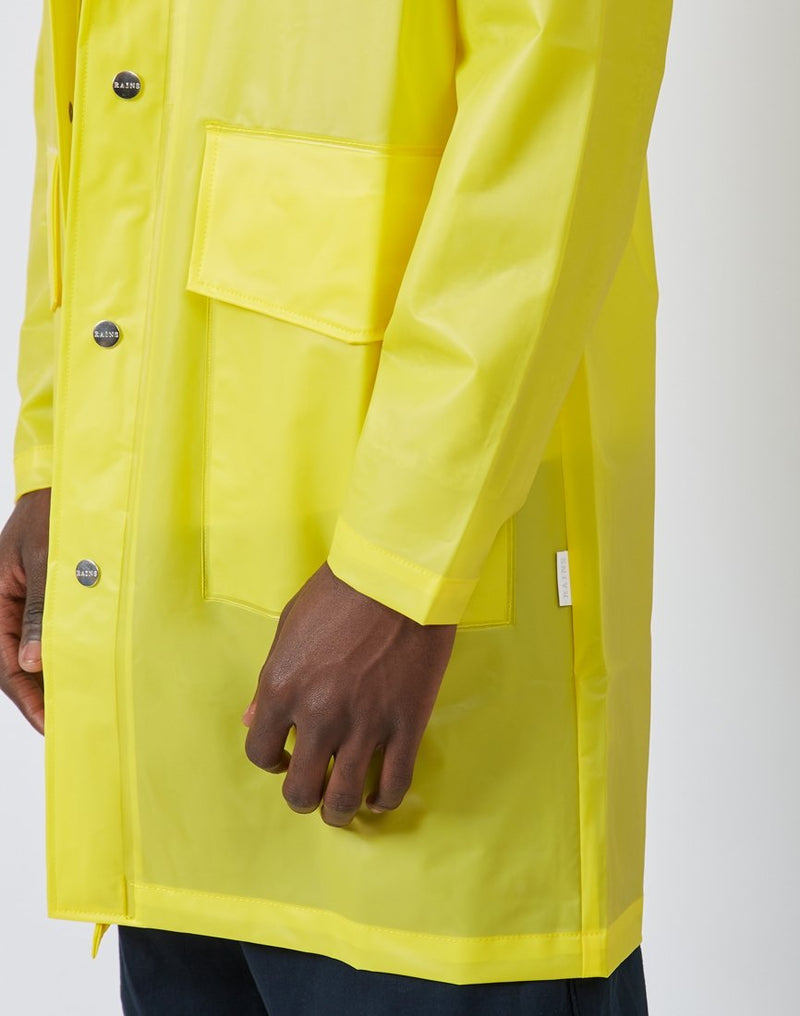 Rains - Hooded Coat Foggy Yellow