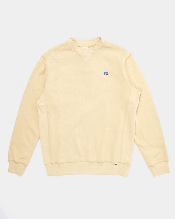 Russell Athletic - Frank Crew Neck Sweatshirt Tan