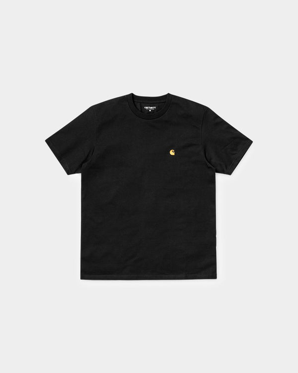 Carhartt WIP - Short Sleeve Chase T-Shirt Black
