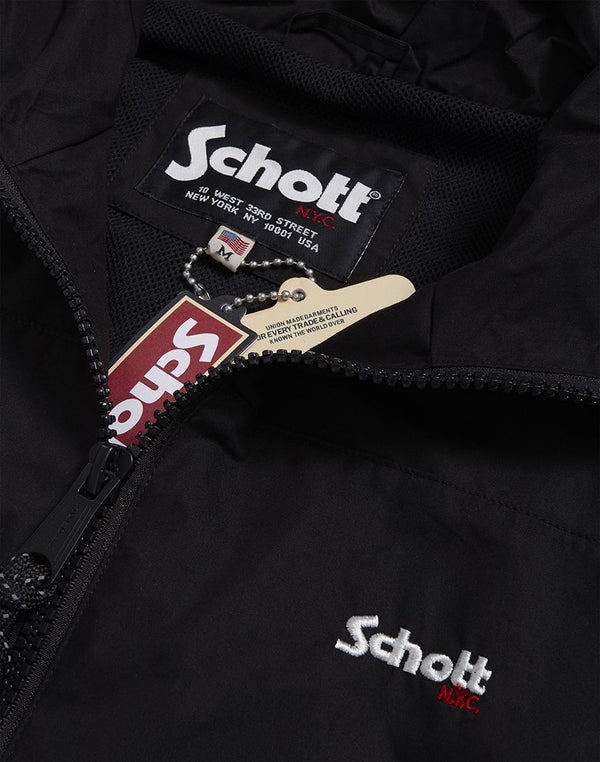 Schott NYC - Florida Windbreaker Black