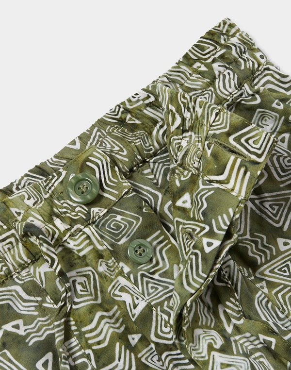 Stan Ray - Beach Pant Tom Tom Batik Olive