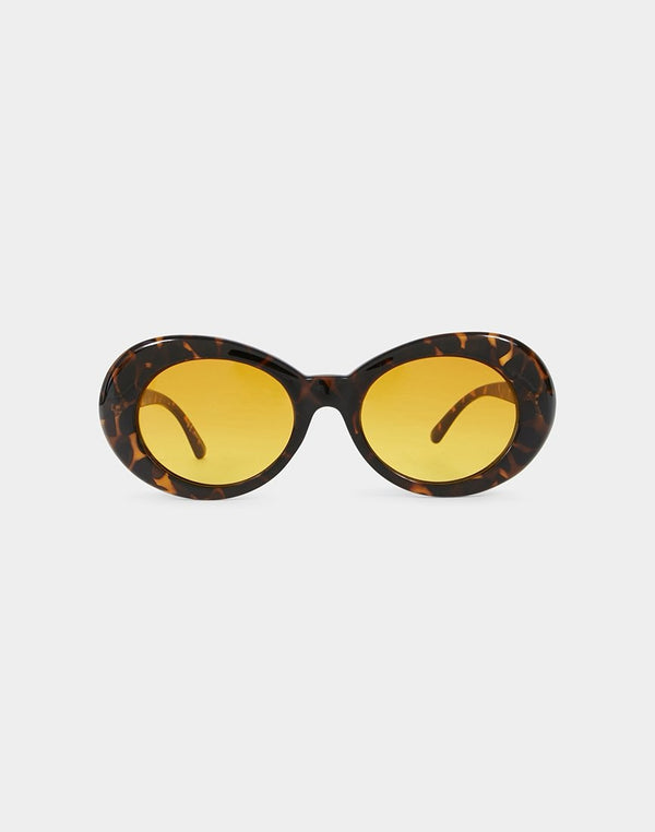 The Idle Man - CBain Sunglasses Tortoise Brown