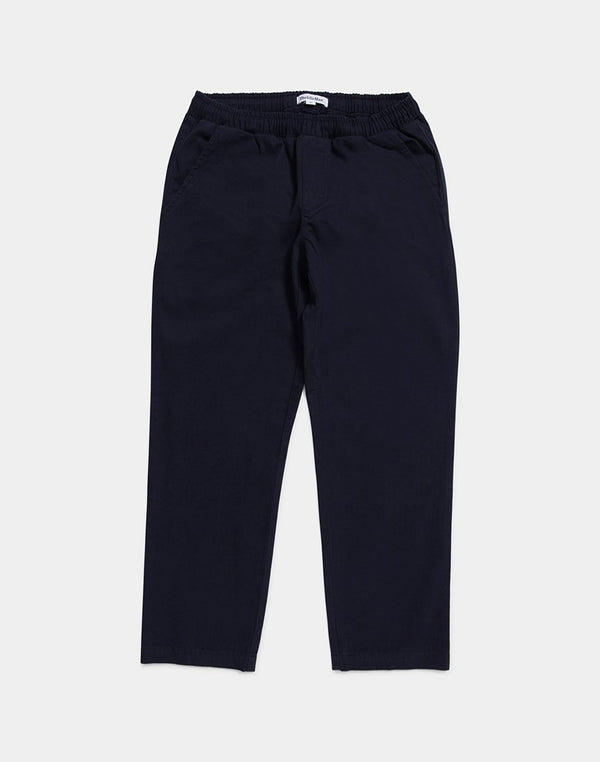The Idle Man - Elasticated Waist Chino Navy