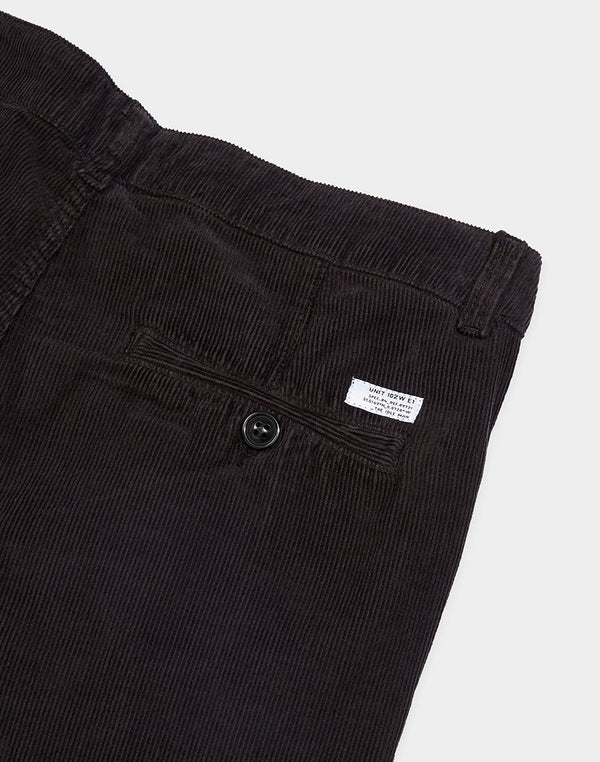 The Idle Man - Five Pocket Cord Trouser Grey