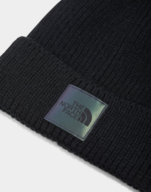 The North Face - Logo Box Cuffed Beanie Black