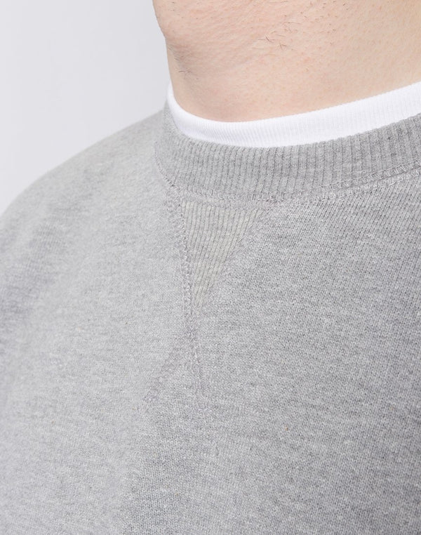 The Idle Man - Premium Heavyweight Loopback Sweatshirt Grey