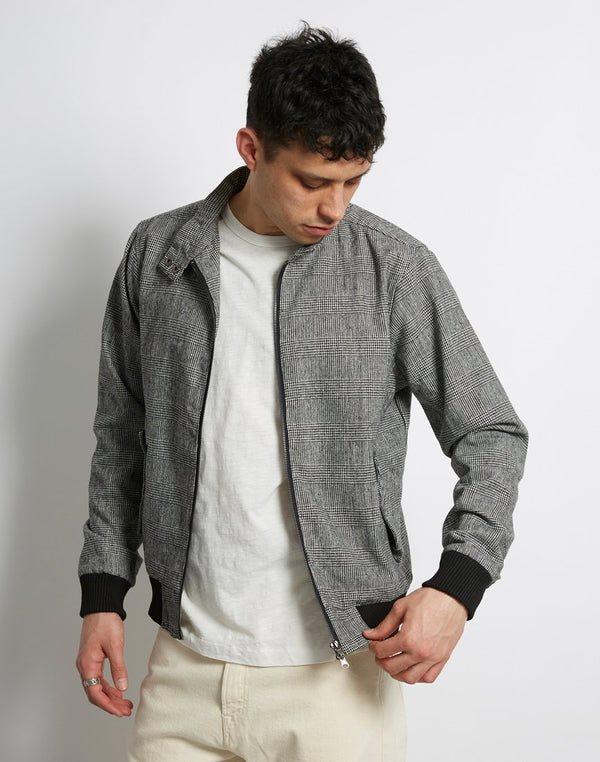 The Idle Man - Check Harrington