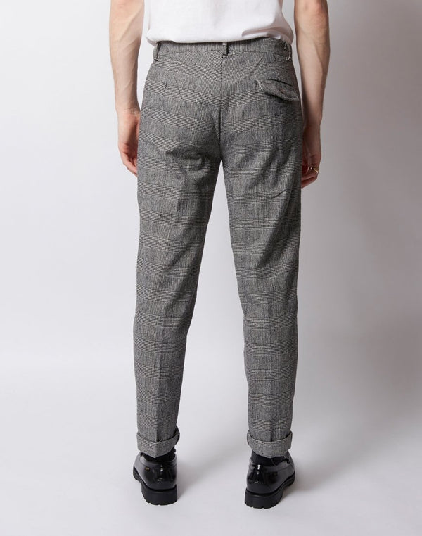 The Idle Man - Check Trouser