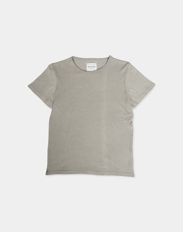 The Idle Man - Towelling T-shirt Grey