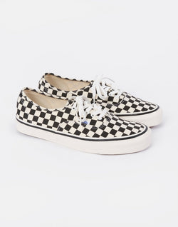 Vans - Authentic 44 DX Anaheim Checkerboard Black