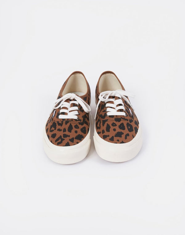 Vans - Authentic 44 DX Leopard Print Brown