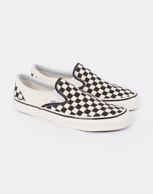 Vans - Classic Slip-On 98 DX Anaheim Checkerboard Black & White