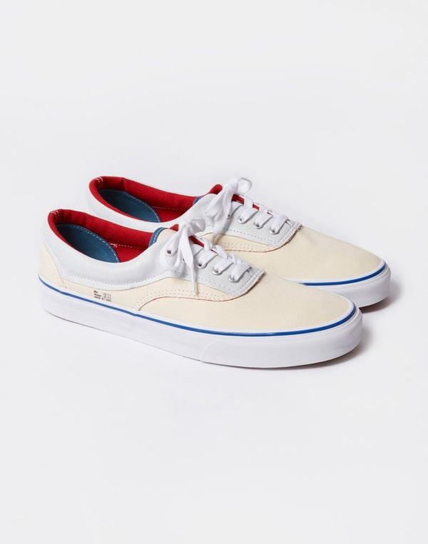 Vans - Era White Colour Lined White