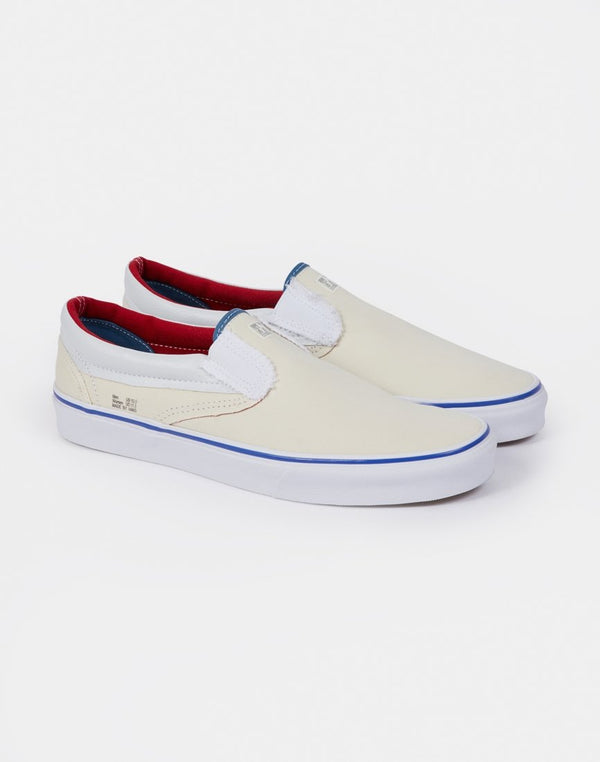 Vans - Classic Slip-On Colour Lined White