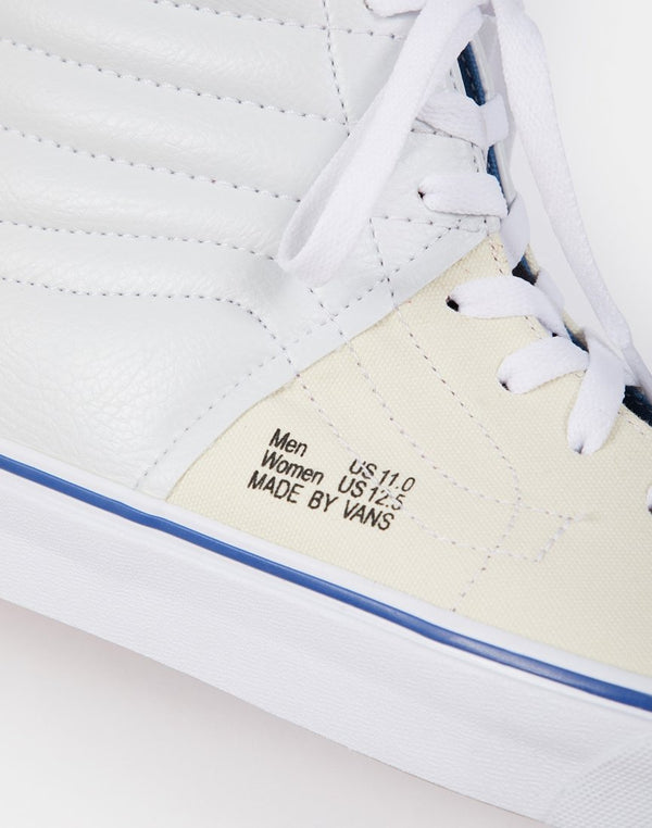 Vans - SK8-Hi Colour Lined White