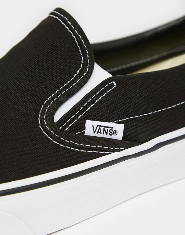 Vans - Classic Slip-On Trainers Black
