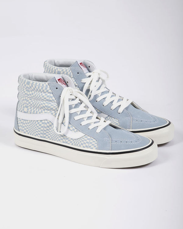 Vans - SK8-Hi 38 DX Checkerboard & Blue