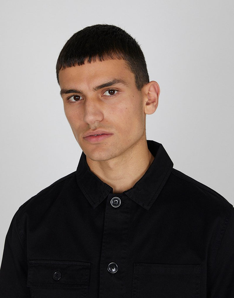 Barbour - Balintore Overshirt Black