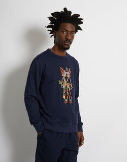 YMC - Birdman Sweat Navy