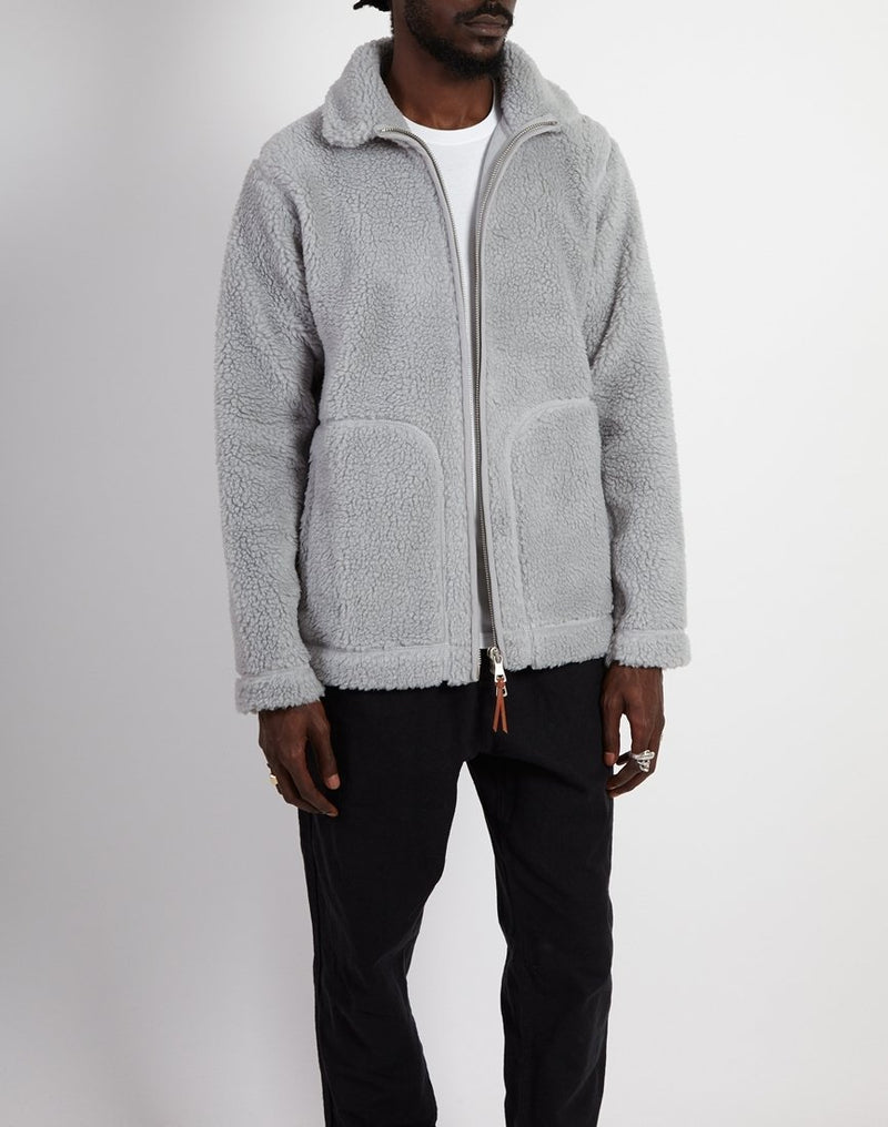 Albam - Fleece Zip Through Quarry