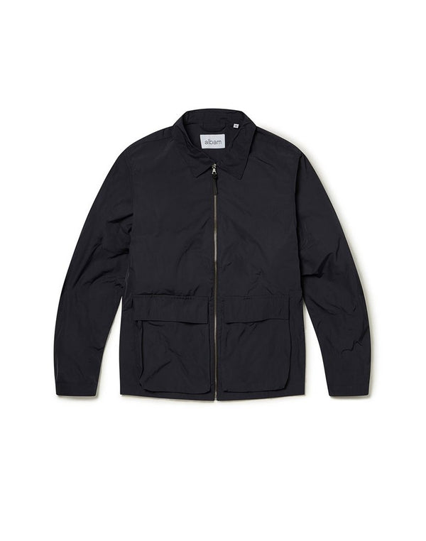 Albam - Nylon Bomber Jacket Grey