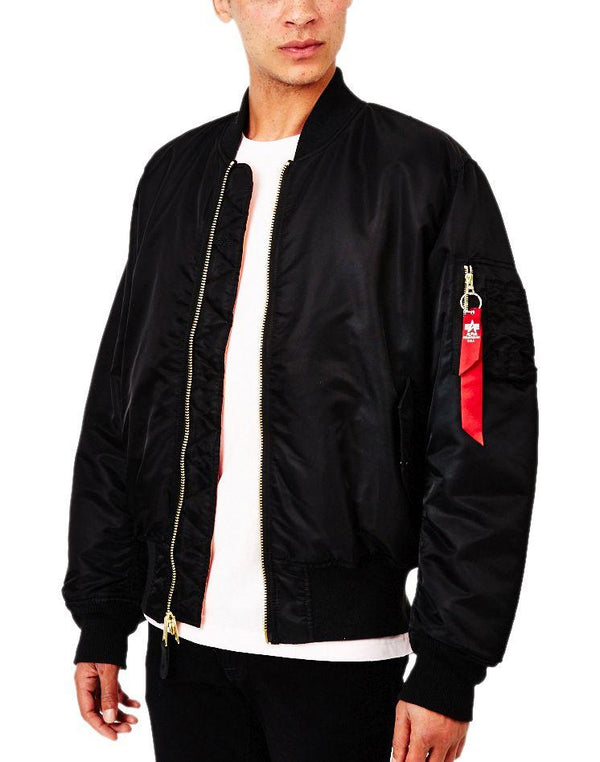 Alpha Industries - Classic MA1 Vintage Fit Bomber Jacket Black