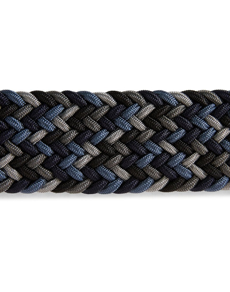 Anderson's - Woven Belt Blue Navy & Cream