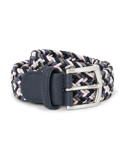 Anderson's - Woven Belt Blue White & Navy