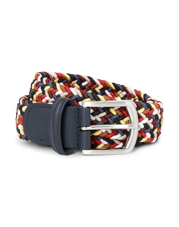 Anderson's - Woven Belt Red Yellow & Blue