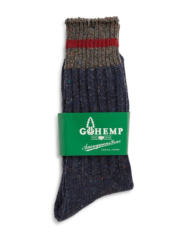 Anonymous - Ism Go Hemp OC Sock Blue