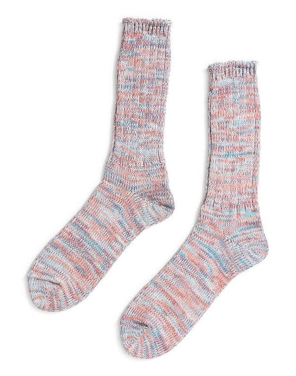 Anonymous - Ism Twisted Yarns 5 Colour Sock Pink & Blue