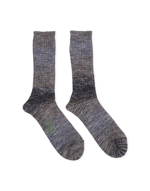 Anonymousism - GO Hemp Splash Grey Socks