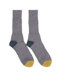 Anonymousism - Mock 2 Point Crew Socks Grey