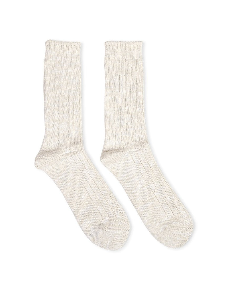 Anonymous Ism - Slub Crew Off White Socks