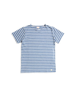Armor Lux - Classic Stripe T-Shirt Navy & White