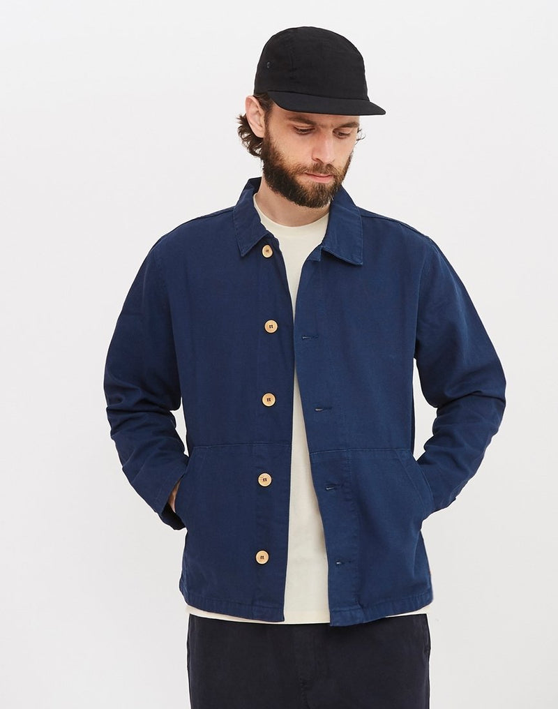 Armor Lux - Long Sleeve Heritage Shirt Navy