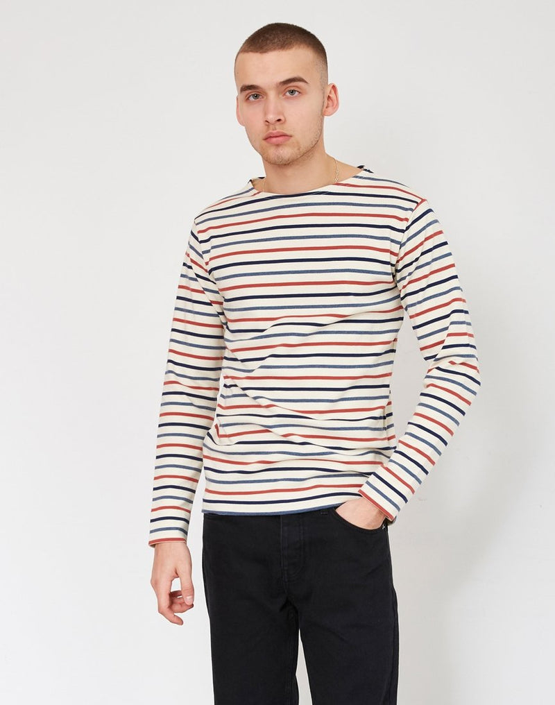 Armor Lux - Mariniere Heritage 4 Colour Stripe T-Shirt