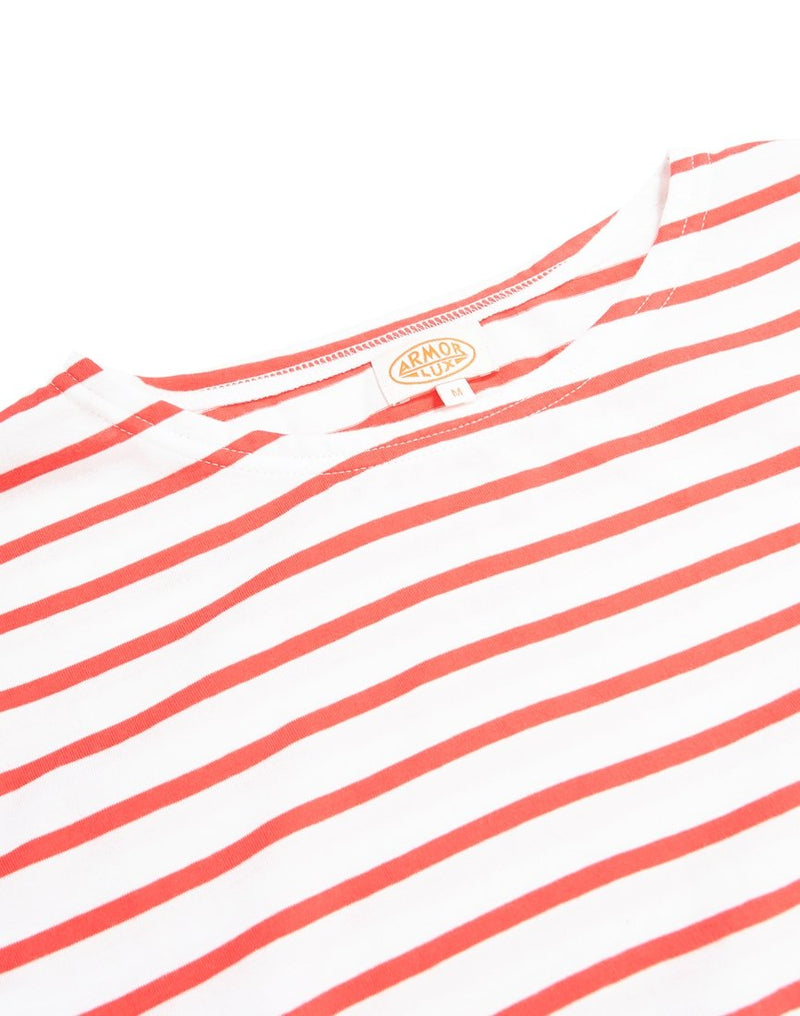 Armor Lux - Heritage Sailor T-Shirt White & Red