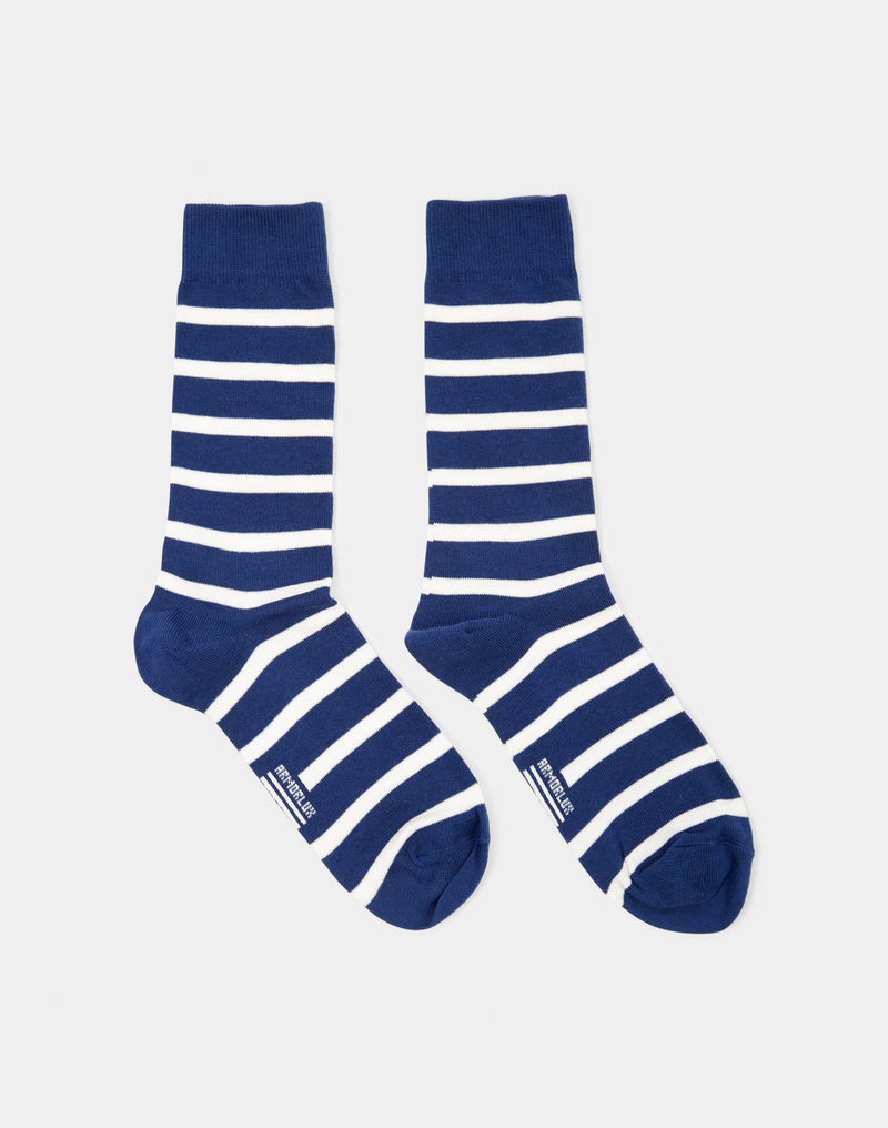 Armor Lux - Chaussettes Homme Socks Navy & White