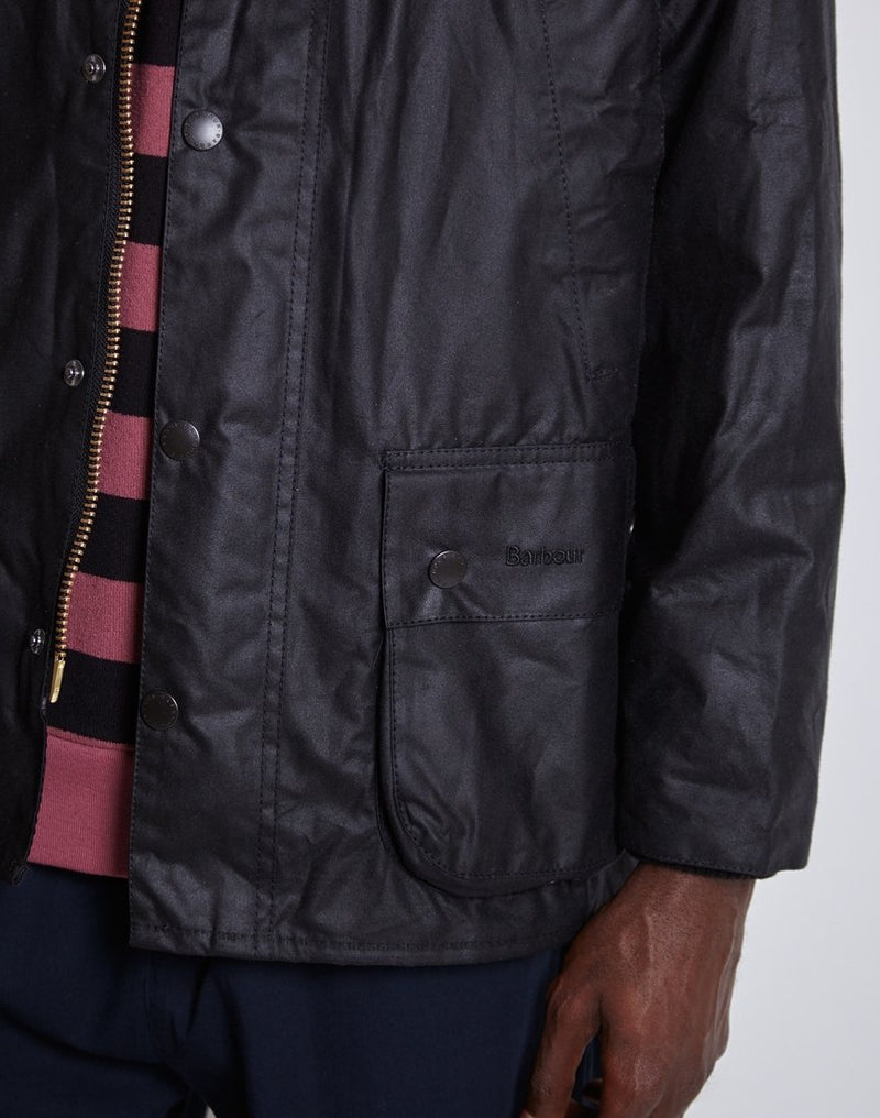 Barbour - Ashby Waxed Field Jacket Black
