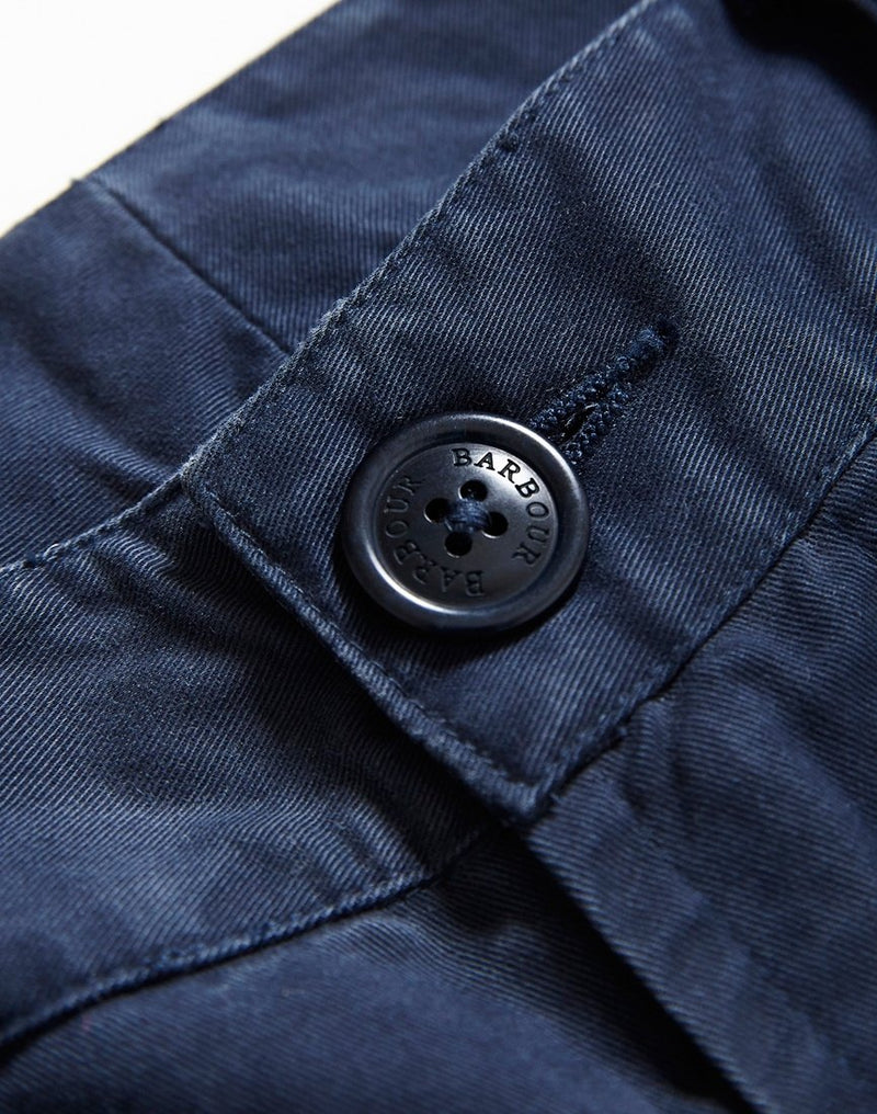 Barbour - Feature Emb Short Navy
