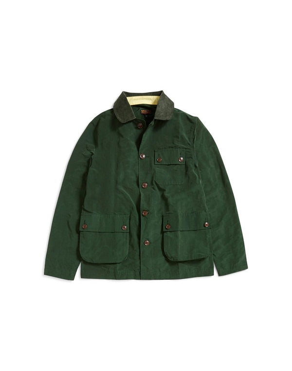 Barbour - Heritage Conniston Button Thru Overshirt Green