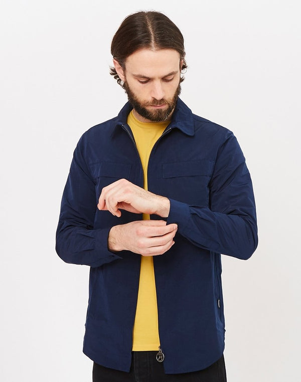 Barbour - Heritage Hoad Overshirt Blue