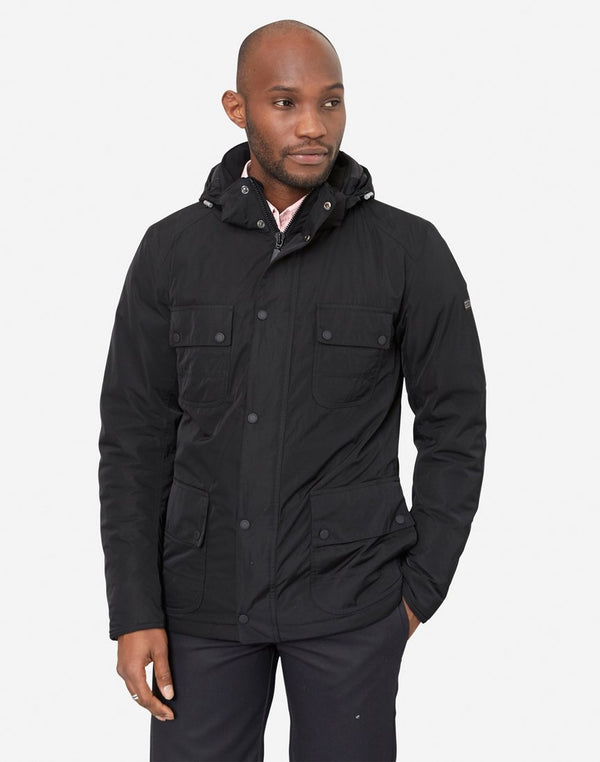 Barbour - International Roper Shell Jacket Black