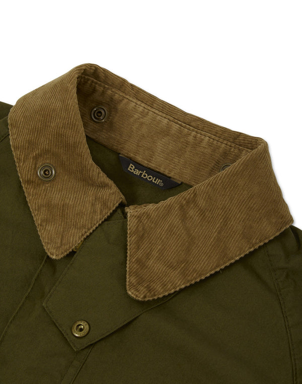 Barbour - Made for Japan Washed Slim Bedale Green